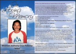 obituary mike-palomo